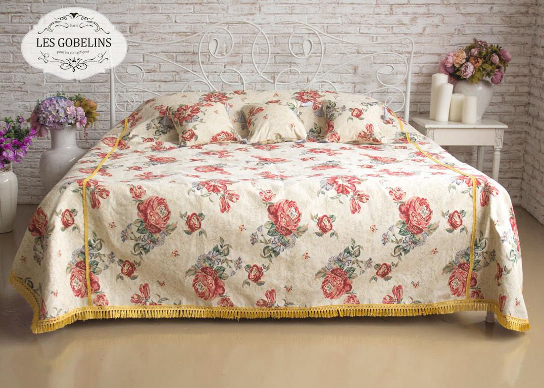 где купить  Покрывало Les Gobelins Покрывало на кровать Cleopatra (220х220 см)  по лучшей цене