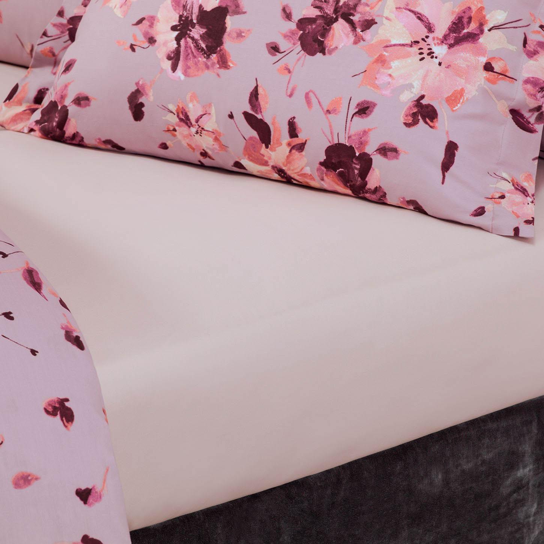 где купить  Простыни Togas Простыня на резинке Рошель Цвет: Розовый (180х200)  по лучшей цене
