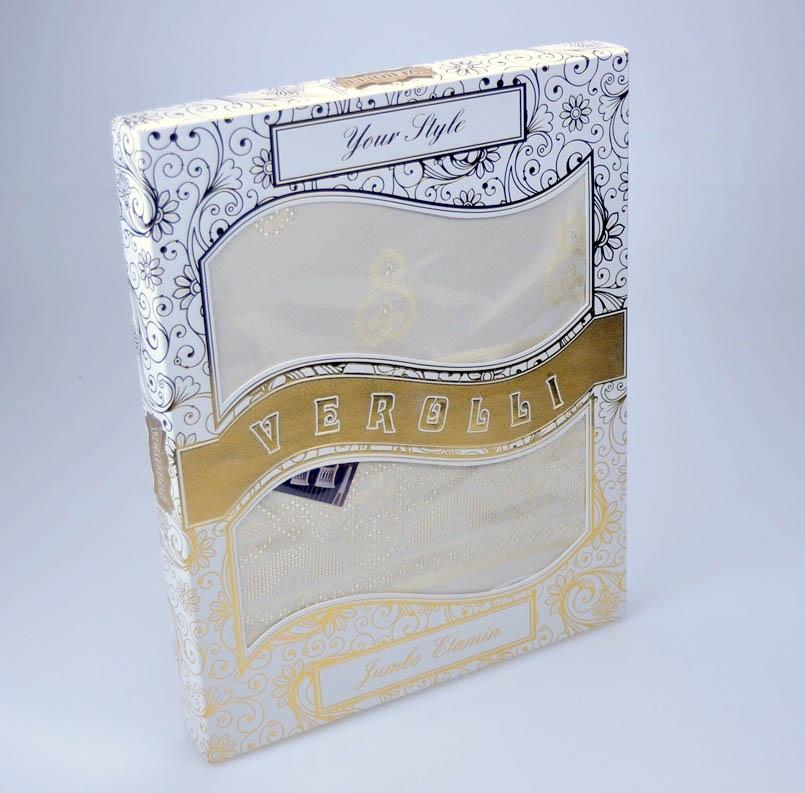 Скатерти и салфетки Verolli Скатерть Etamin Jumbo Цвет: Пудра (160х220 см)