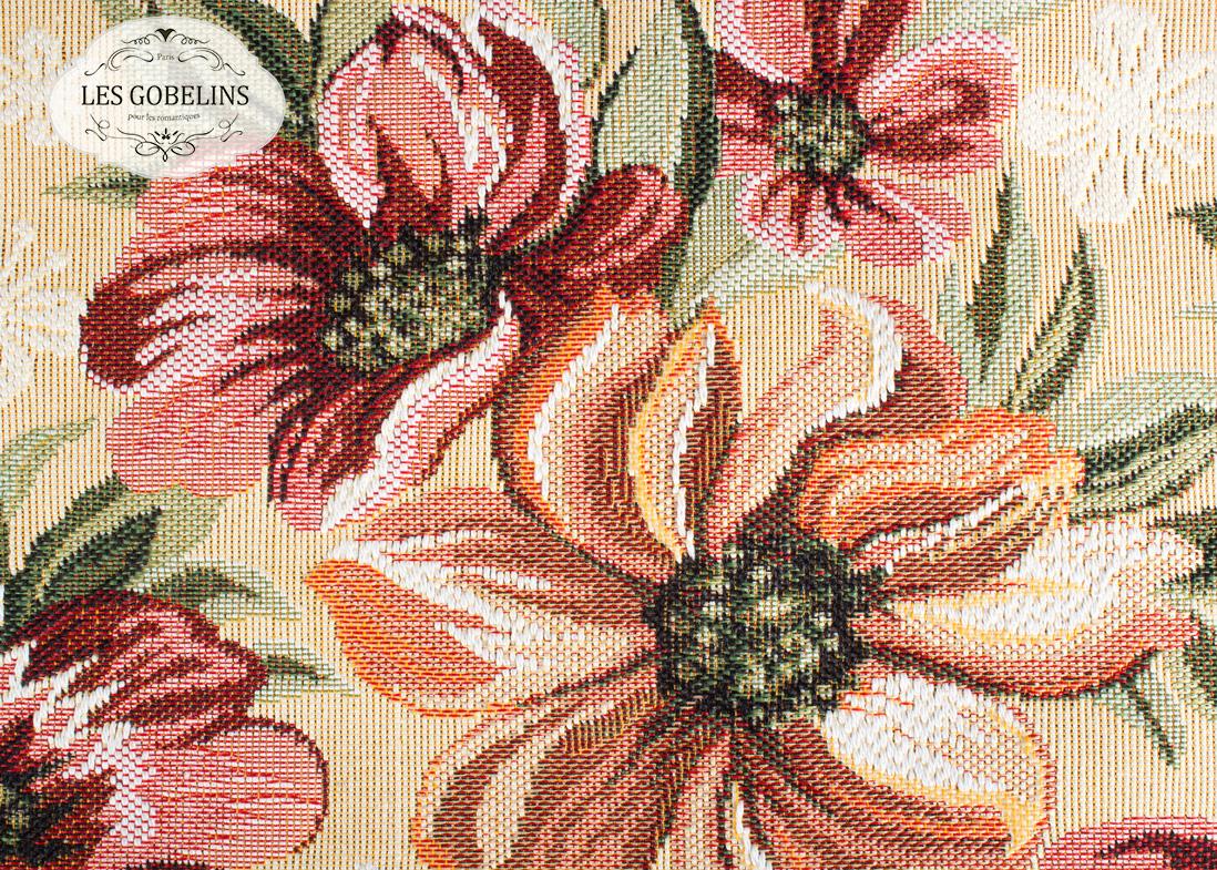 Покрывало Les Gobelins Накидка на диван Coquelicot (130х190 см)