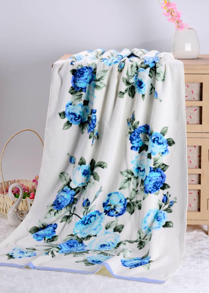 Полотенца Valtery Полотенце Rosy Цвет: Голубой (50х90 см) rosy rim