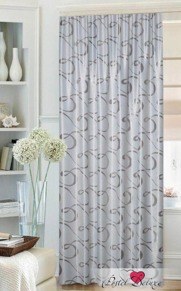 Шторы Mona Liza Классические шторы Stacy Цвет: Серый mona liza mona liza классические шторы stacy цвет серый