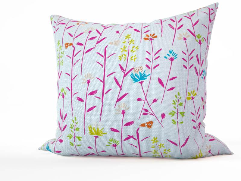 Декоративные подушки StickButik Декоративная подушка Полевые Цветы (45х45) подушка арти м декоративная 45х45 см цветы 703 694 37