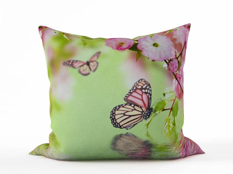 где купить  Декоративные подушки StickButik Декоративная подушка Нежное Цветение (45х45)  по лучшей цене