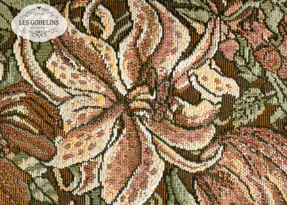 где купить  Покрывало Les Gobelins Накидка на диван Art Nouveau Lily (150х200 см)  по лучшей цене
