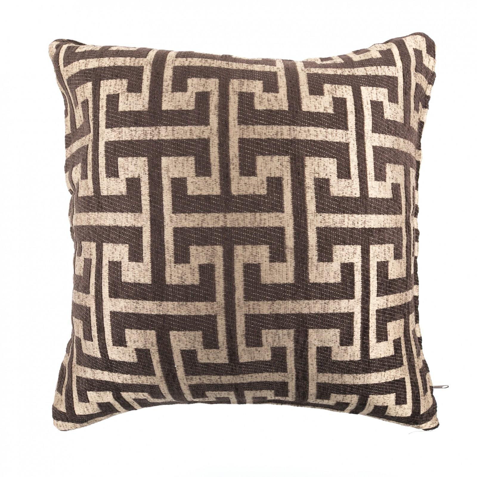 Декоративные подушки Togas Декоративная подушка Спарта Цвет: Коричневый (40х40)