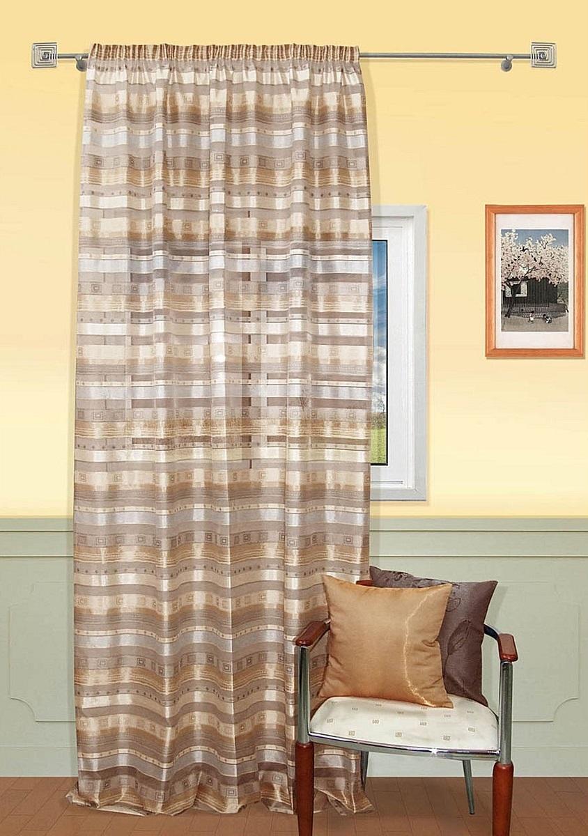 Шторы Kauffort Классические шторы Macadi - S Цвет: Коричневый шторы kauffort классические шторы barolo s