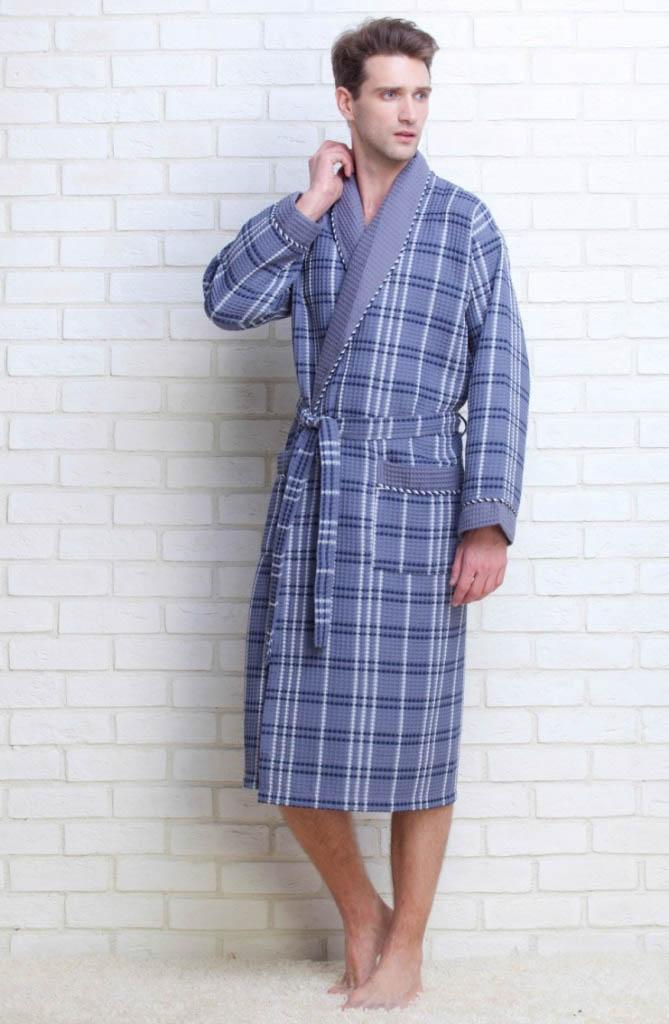 Сауны, бани и оборудование EvaTeks Халат Europe Style Цвет: Светло-Серый (L)