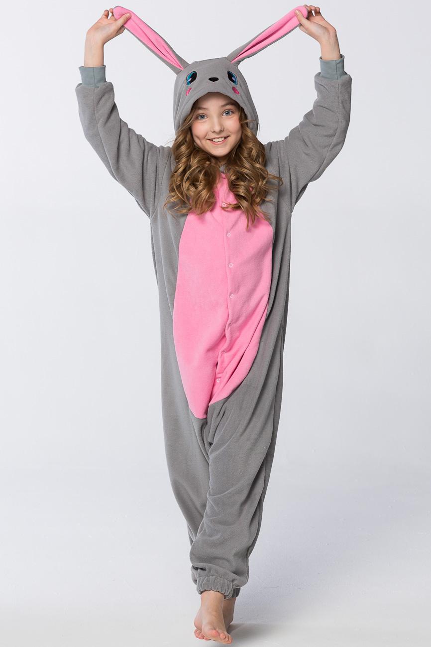 Детские пижамы Футужама Детская пижама-кигуруми Кролик (8-10 лет) сувениры win подарочный набор золотой