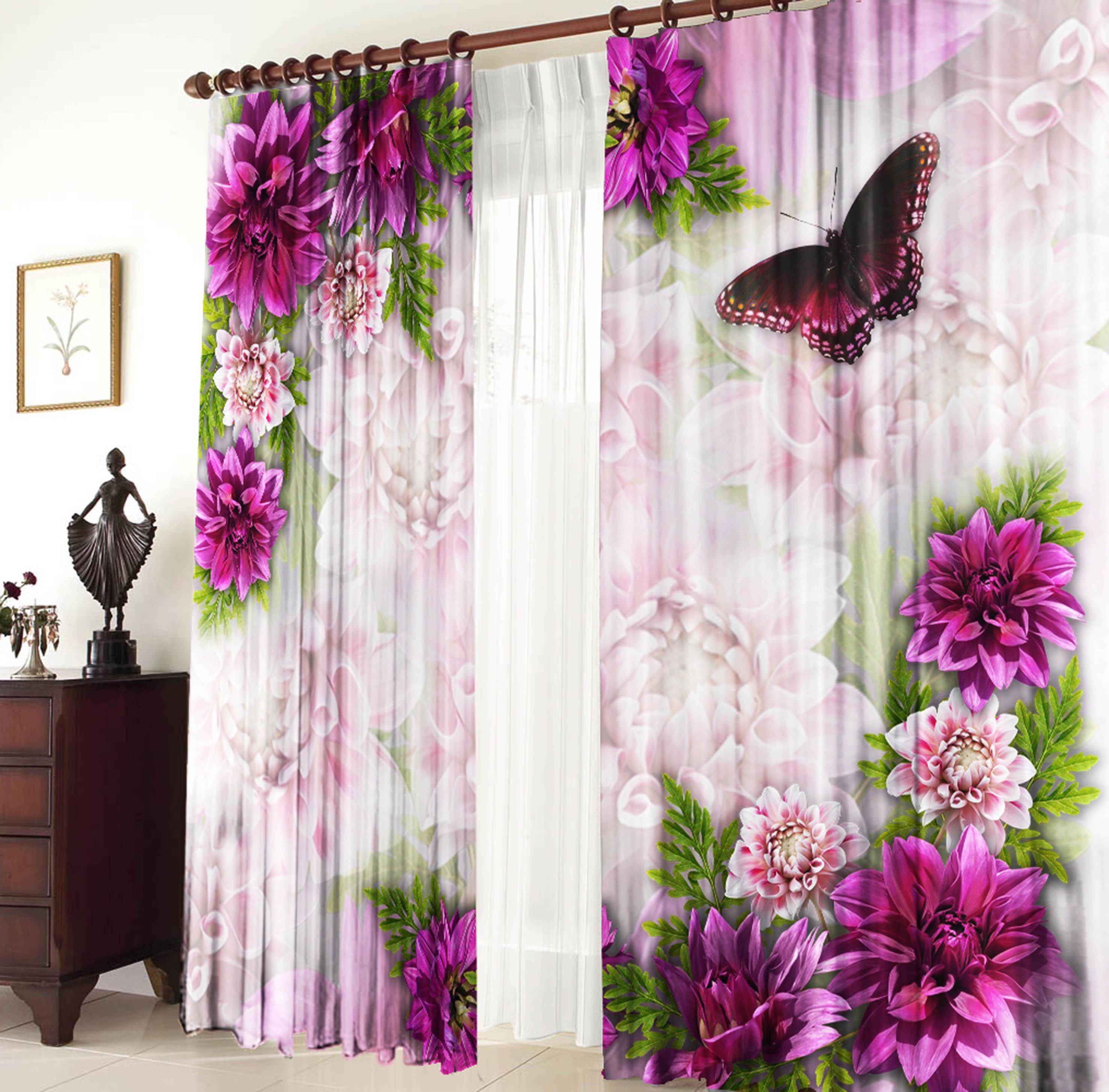 21240 комплект штор фиолет - шторы на заказ. салон штор в мо.