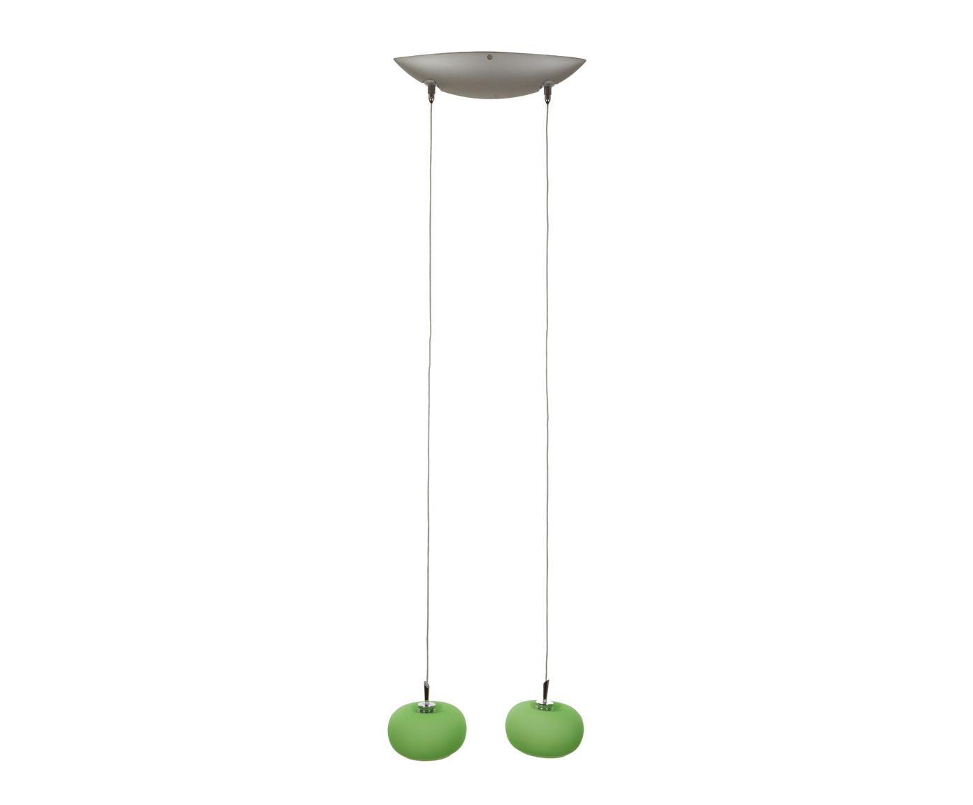 цена  {} CRYSTAL LIGHT Светильник потолочный Lilyum Цвет: Зеленый (10х30х180 см)  онлайн в 2017 году