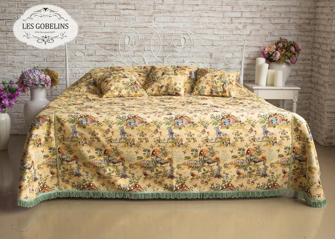 где купить  Детские покрывала, подушки, одеяла Les Gobelins Детское Покрывало на кровать Souris Drole (240х230 см)  по лучшей цене