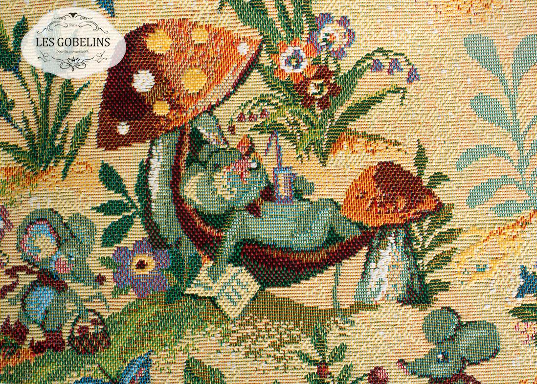 где купить Детские покрывала, подушки, одеяла Les Gobelins Детская Накидка на диван Souris Drole (130х170 см) по лучшей цене