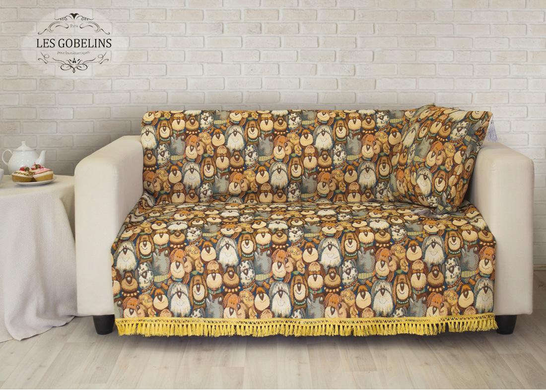 Les Gobelins Накидка на диван Chiens (130х170 см)