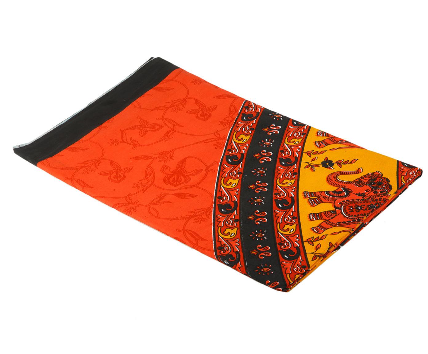 Покрывало Ethnic Chic Покрывало Слон Цвет: Оранжевый, Красный (225х250 см)