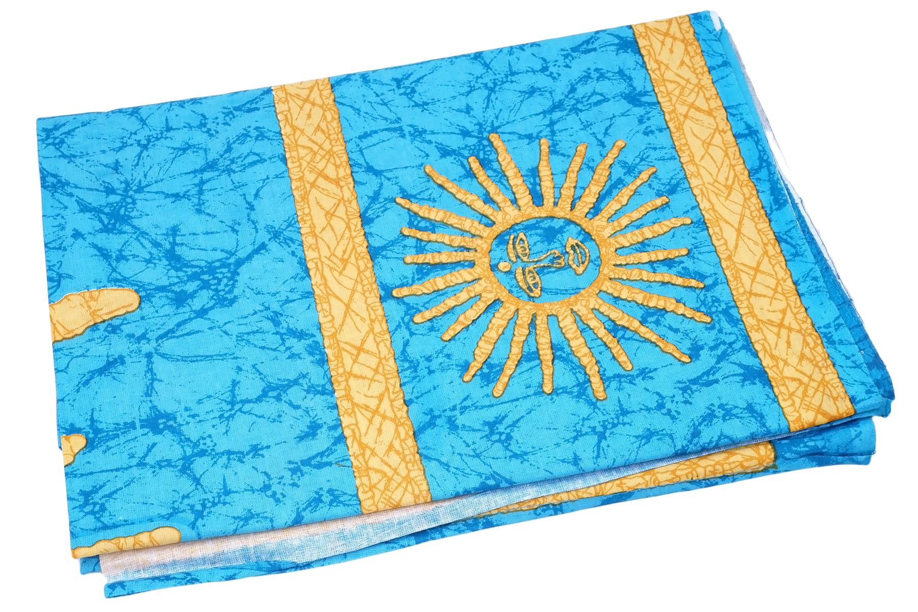 Покрывало Ethnic Chic Покрывало Солнце Цвет: Голубой (140х225 см)