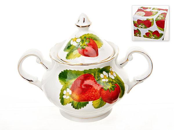 {} Best Home Porcelain Сахарница Спелая Клубника (12 см) orbit спелая клубника леденцы 35 г