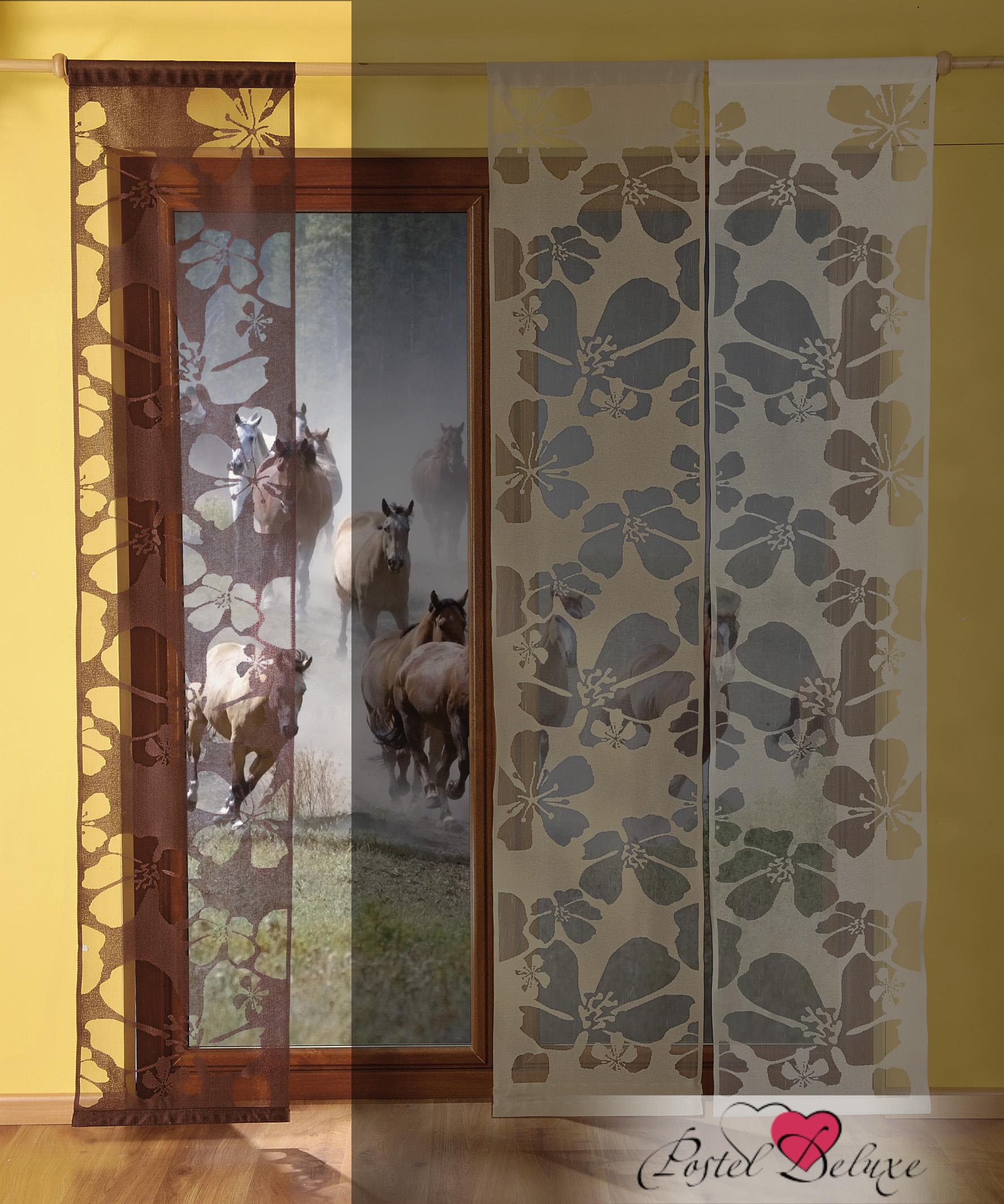 Шторы WisanШторы<br>ВНИМАНИЕ! Комплектация штор может отличаться от представленной на фотографии. Фактическая комплектация указана в описании изделия.<br><br>Производитель: Wisan<br>Cтрана производства: Польша<br>Японские шторы<br>Материал гардины: Тюль<br>Размер гардины: 50х240 см (1 шт.)<br>Вид крепления: Кулиска<br>Рекомендуемая ширина карниза (см): 50-200<br><br>Максимальный размер карниза, указанный в описании, предполагает, что Вы будете использовать 4 полотна на одно окно. Обратите внимание на информацию о том, сколько полотен входит в данный комплект изначально. Зачастую шторы продаются по одному полотну, чтобы дать возможность подобрать изделия в желаемом цвете и стиле, создавая свое неповторимое сочетание.<br><br>Тип: шторы<br>Размерность комплекта: Японские шторы<br>Материал: Тюль<br>Размер наволочки: None<br>Подарочная упаковка: Японские шторы<br>Для детей: Японские шторы<br>Ткань: Тюль<br>Цвет: Коричневый