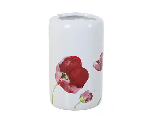 {} ENS GROUP Подставка для зубных щеток Красные Тюльпаны (6х6х11 см) салатник с крышкой ens group танго магнолия 1 6 л