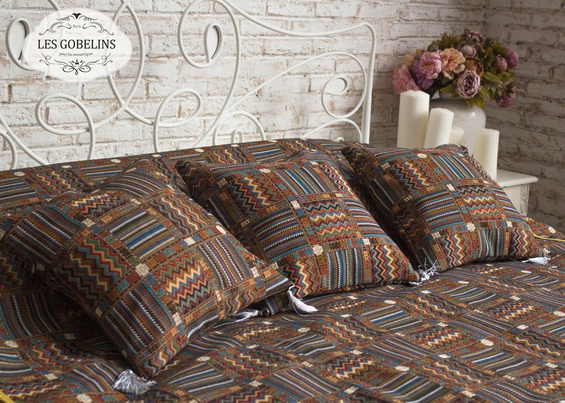 где купить Покрывало Les Gobelins Покрывало на кровать Mexique (230х230 см) по лучшей цене