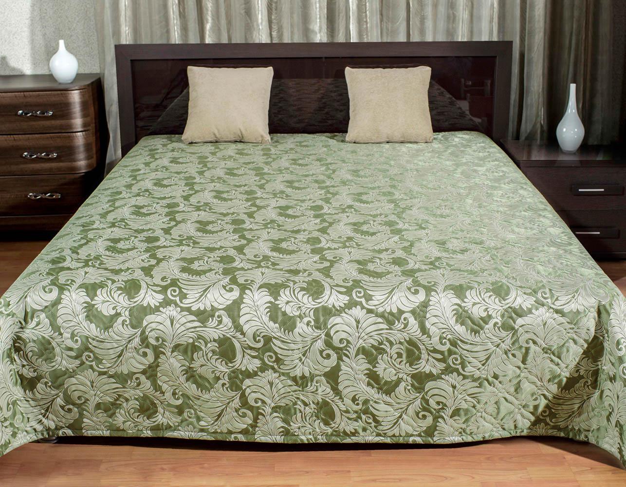 где купить Покрывало Primavelle Покрывало Покрывало Цвет: Оливковый (240х240 см) по лучшей цене