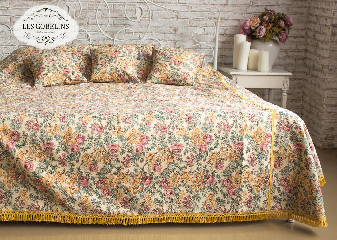Покрывало на кровать Arrangement De Fleurs (150х230 см) Les Gobelins