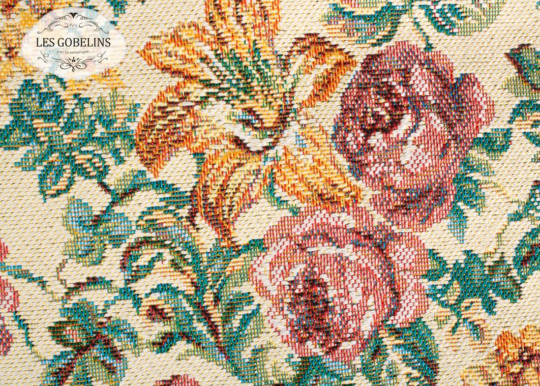 где купить  Покрывало Les Gobelins Накидка на диван Arrangement De Fleurs (150х200 см)  по лучшей цене