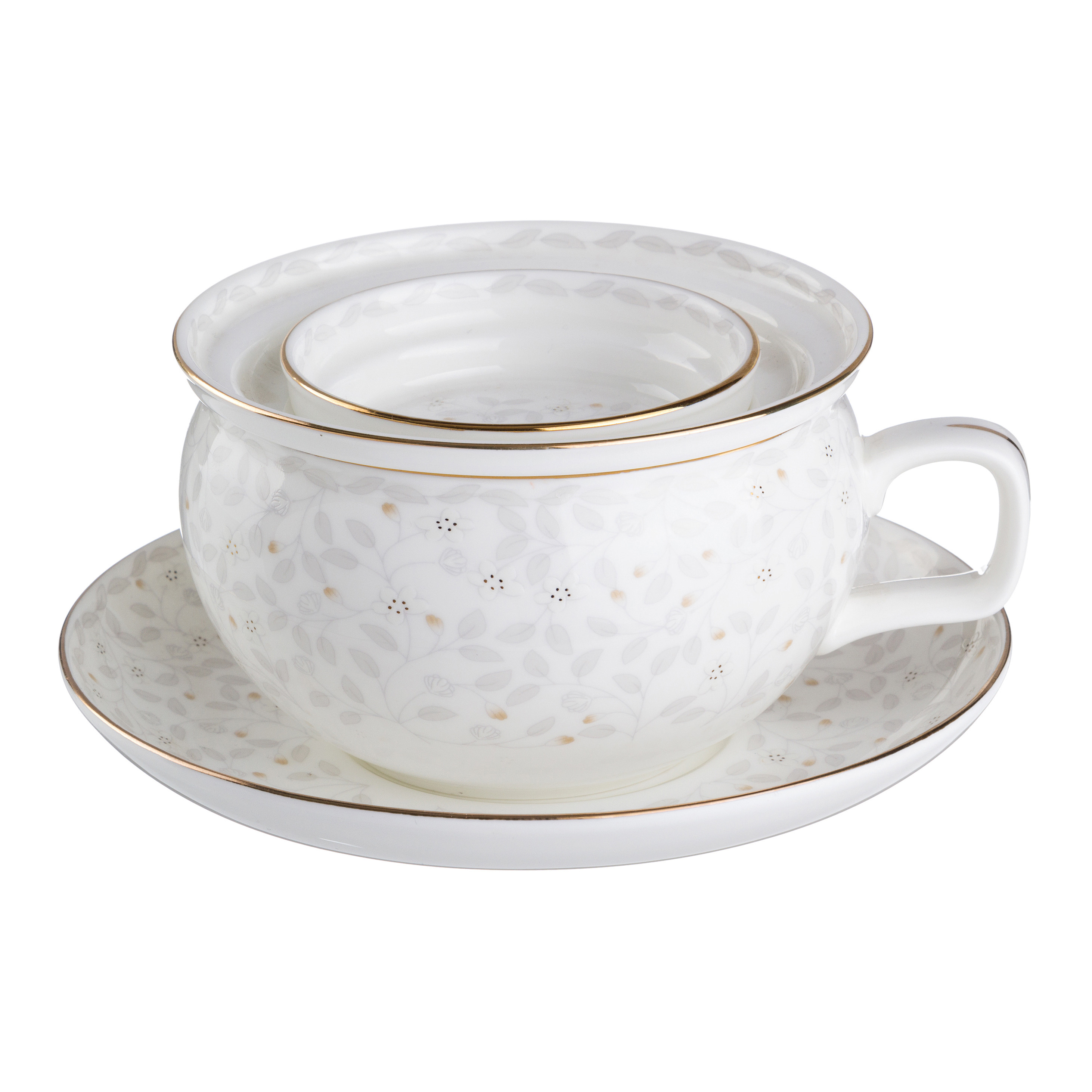 {} Lefard Чайная пара Micah  (450 мл) подарочная корзина чайная с заварочной кружкой