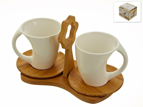 {} Best Home Porcelain Набор кружек Naturel (230 мл)
