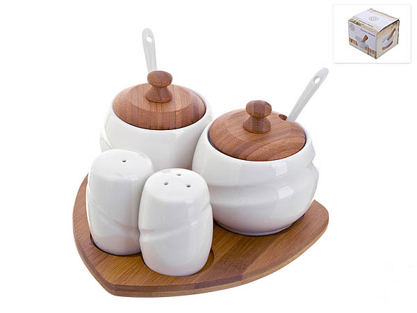 {} Best Home Porcelain Набор для специй Naturel (10х17х17 см) сахарница 17х11х12 см best home porcelain сахарница 17х11х12 см