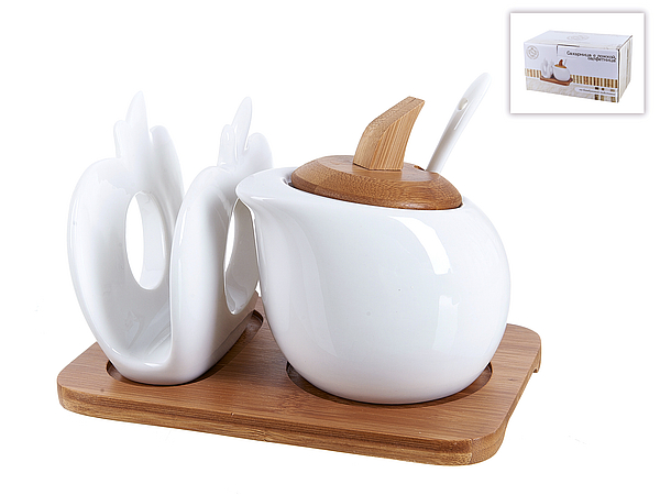 {} Best Home Porcelain Сахарница Naturel (11х11х17 см) сахарница 17х11х12 см best home porcelain сахарница 17х11х12 см