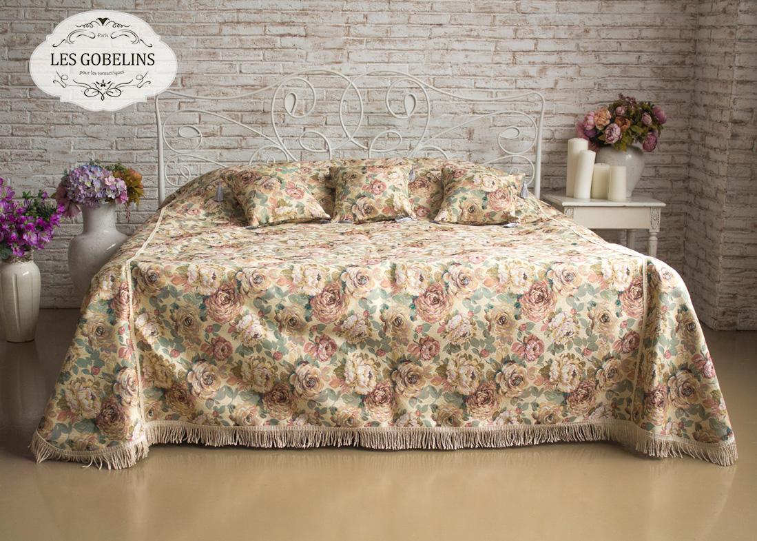 где купить  Покрывало Les Gobelins Покрывало на кровать Fleurs Hollandais (240х230 см)  по лучшей цене