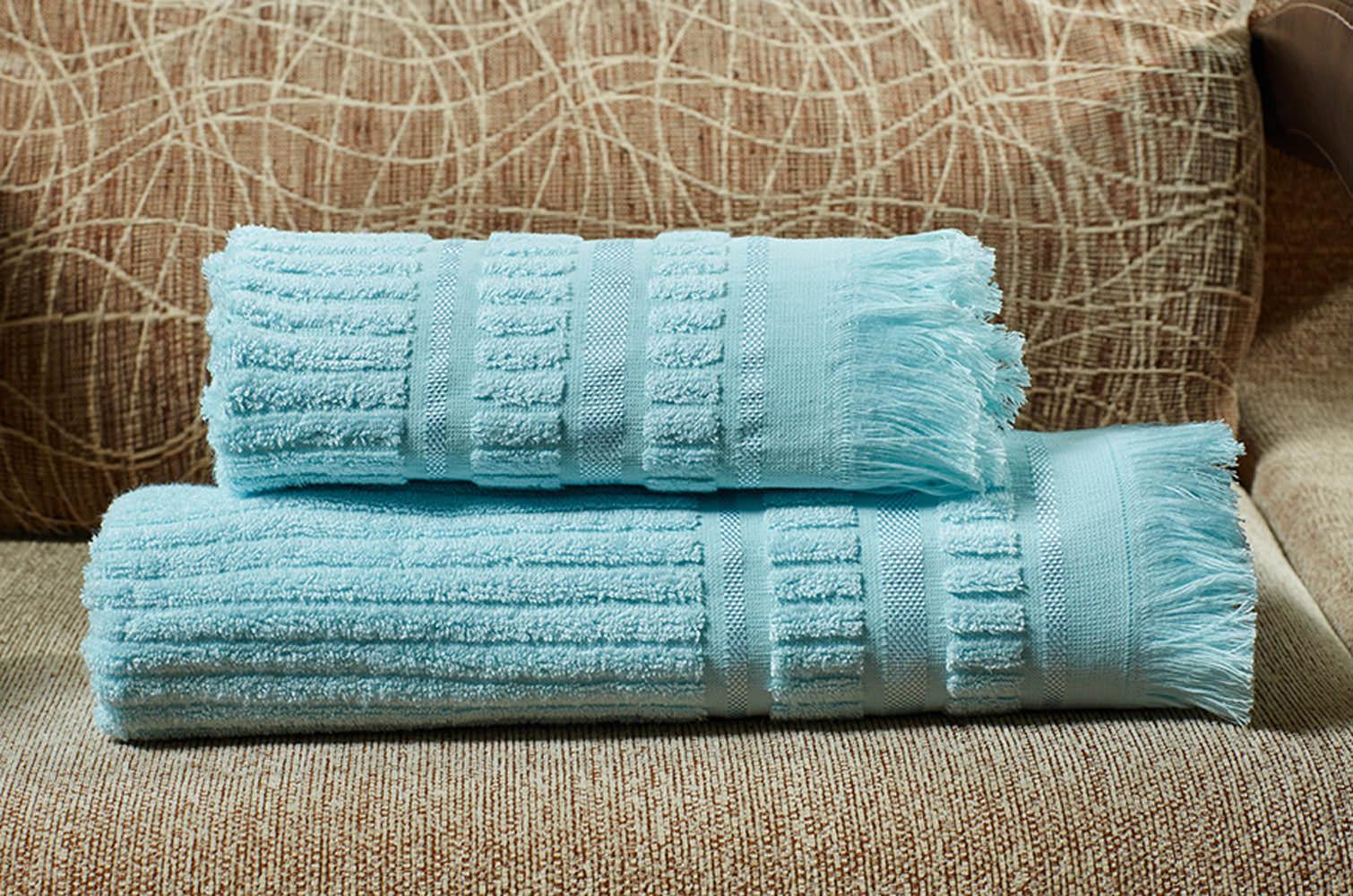где купить  Полотенца Primavelle Полотенце Marco Цвет: Голубой (70х140 см)  по лучшей цене