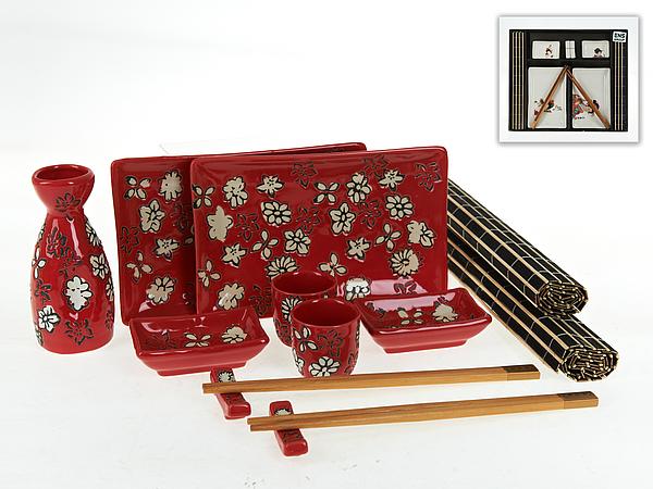 {} ENS GROUP Набор для суши Красный Закат (Набор) kitchenaid набор прямоугольных чаш для запекания 0 45 л 2 шт красные