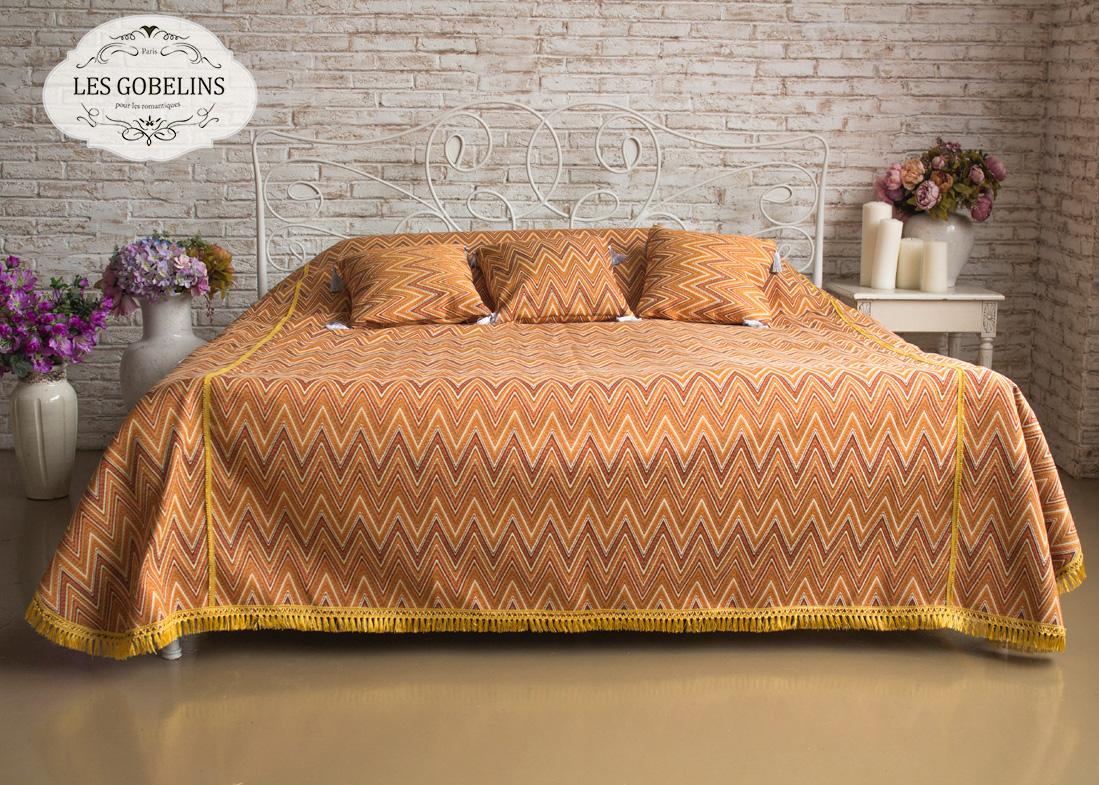 где купить  Покрывало Les Gobelins Покрывало на кровать Zigzag (140х230 см)  по лучшей цене