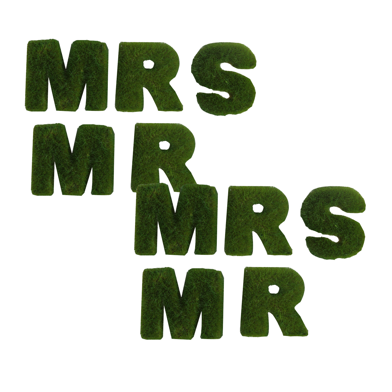{} ARTEVALUCE Настенный декор MR and MRS (4х15х17 см - 2 шт) подарочный набор для фруктов mr and mrs сook 8 6 9см 894735