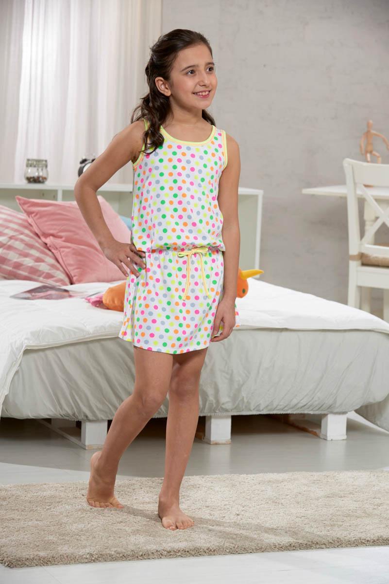 Детские ночные сорочки Arya Детская ночная сорочка Darrel Цвет: Разноцветный горох (3-4 года) arya punto ar f0003443 3