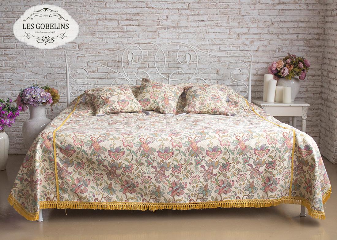 где купить  Покрывало Les Gobelins Покрывало на кровать Loche (220х220 см)  по лучшей цене