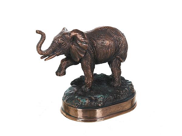 {} ArtHouse Статуэтка Бронзовый Слон (8х13х14 см) arthouse w15052865053