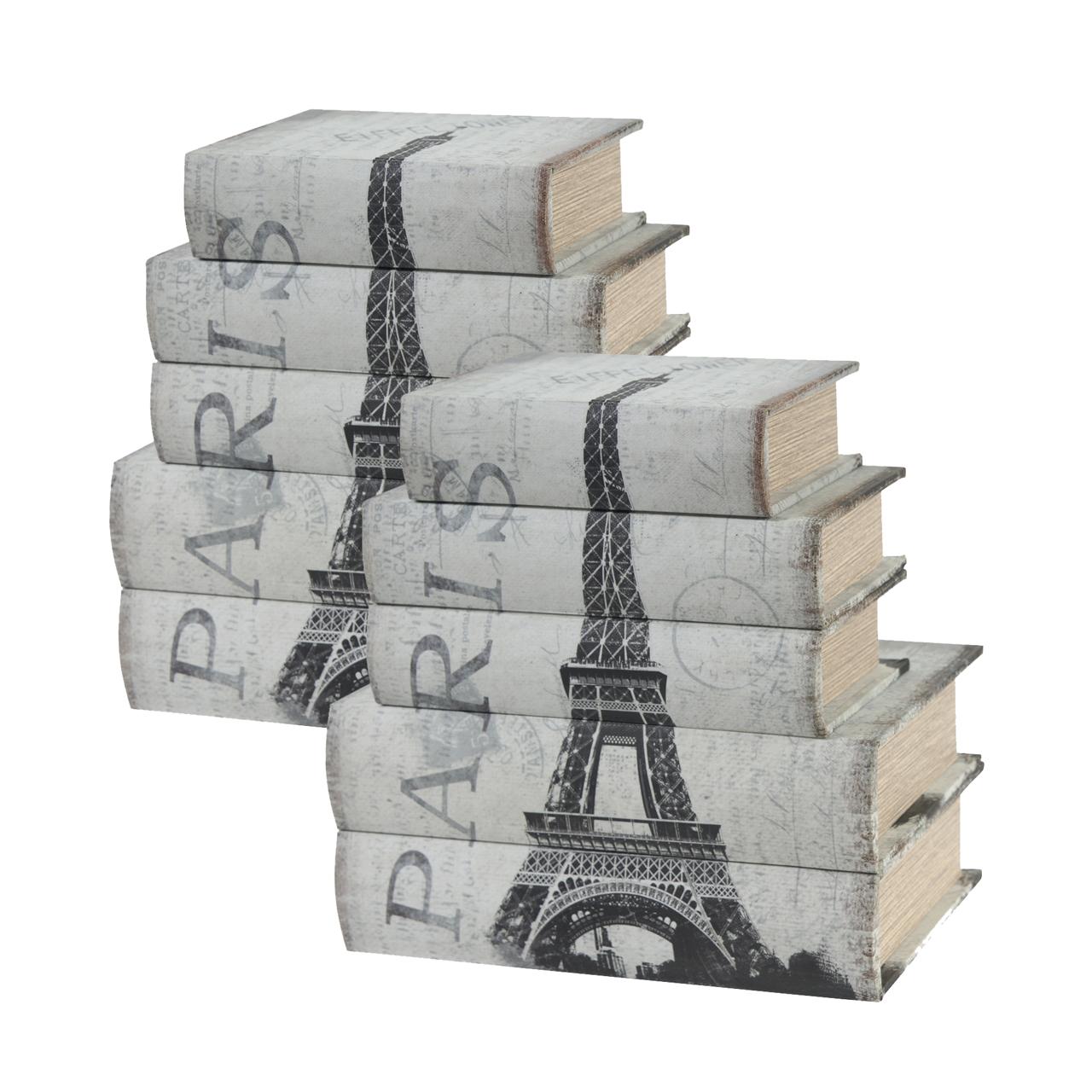 {} ARTEVALUCE Шкатулка-книга Paris (Набор)
