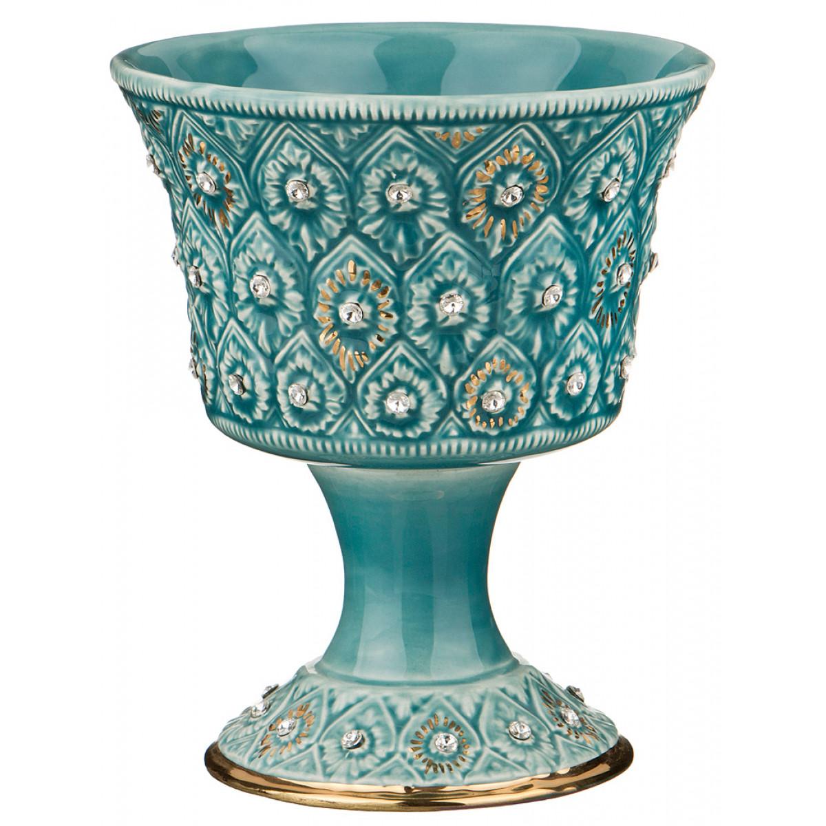 {} Stella Ваза Keshawn  (15х18 см) ваза керамика розовый рассвет 18 12 8 5 см 863622