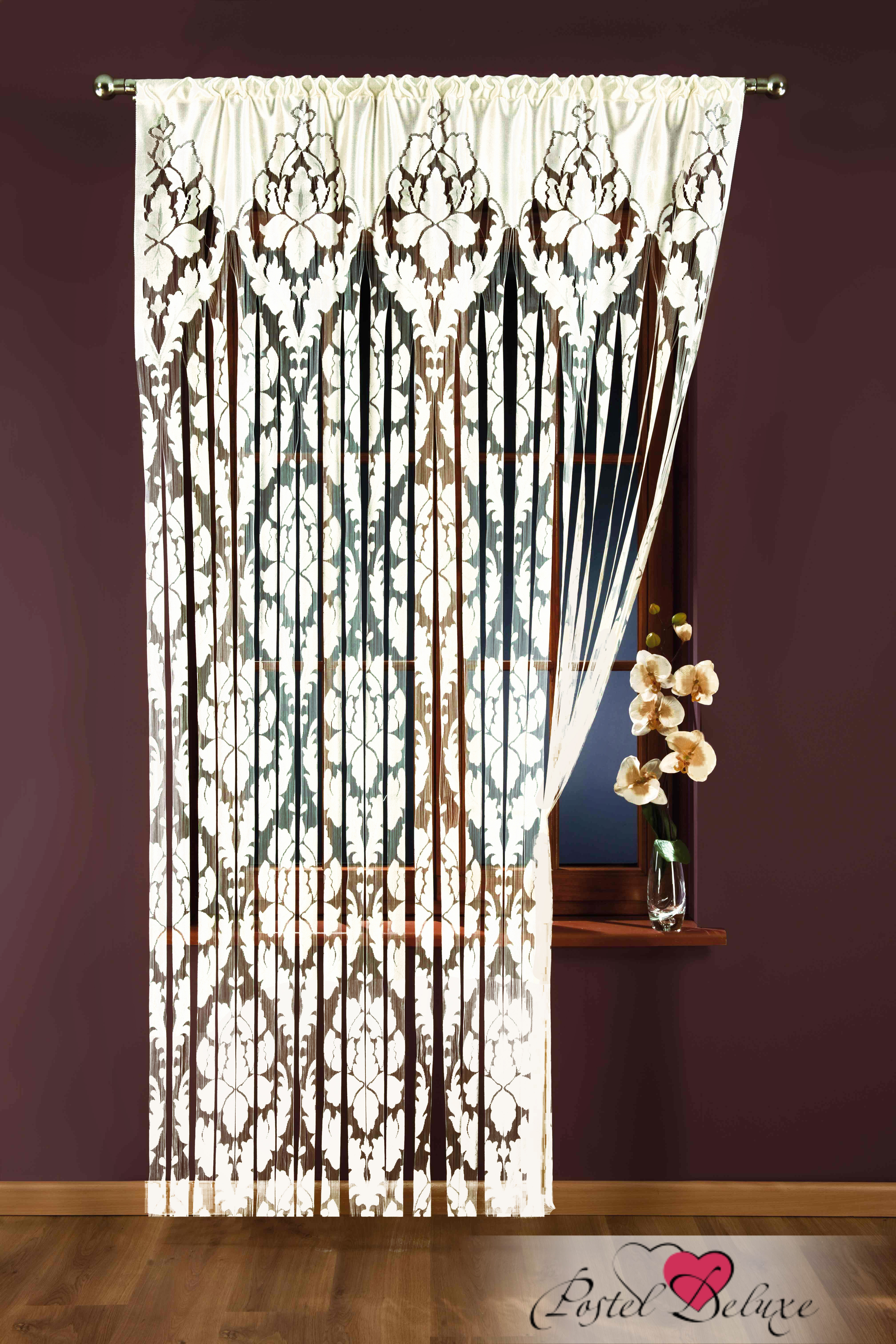 Шторы Wisan Нитяные шторы Цвет: Белый wisan wisan нитяные шторы joelle цвет кремовый бежевый