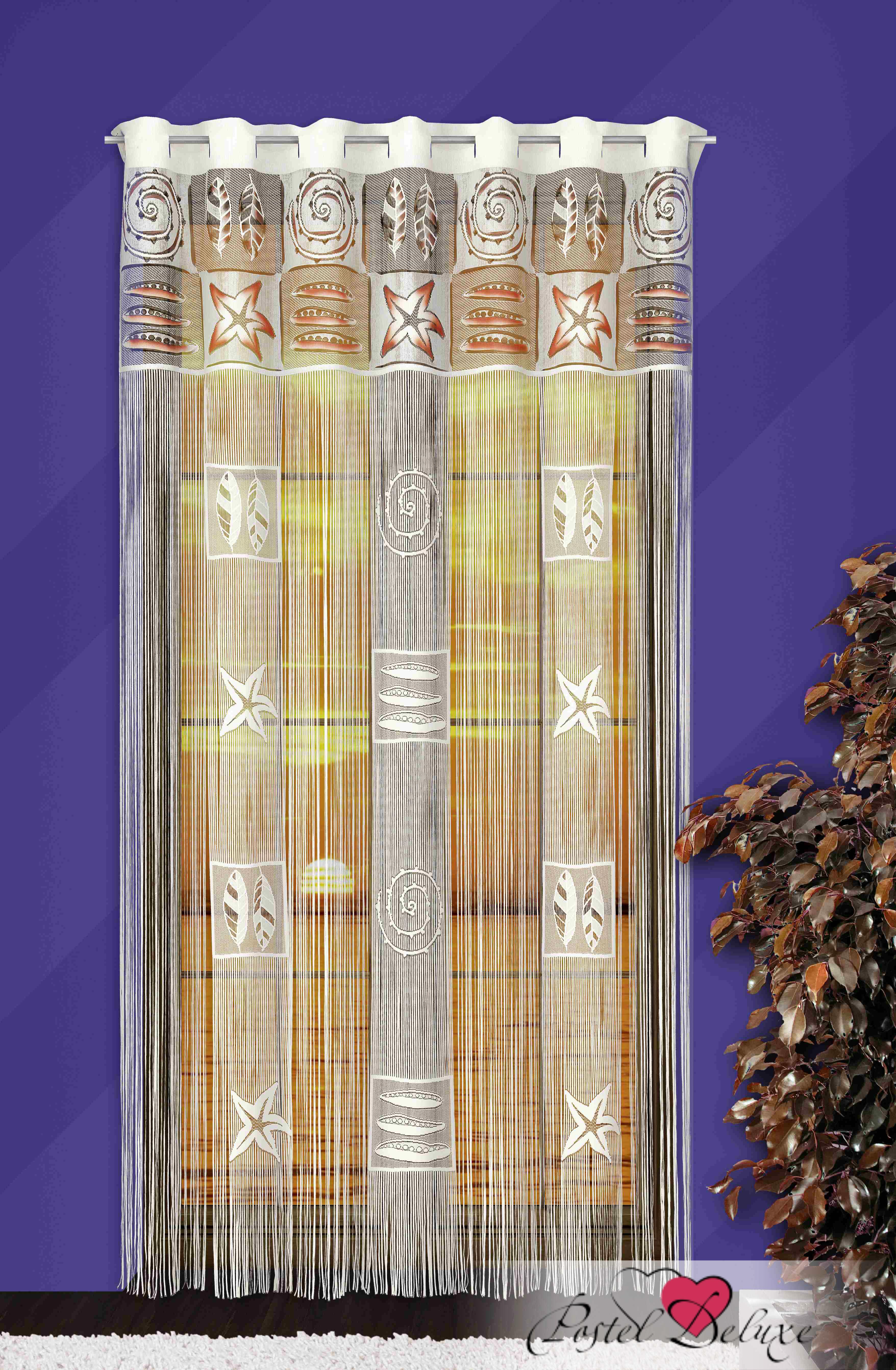 Шторы Wisan Нитяные шторы Цвет: Кремовый wisan wisan нитяные шторы joelle цвет кремовый бежевый