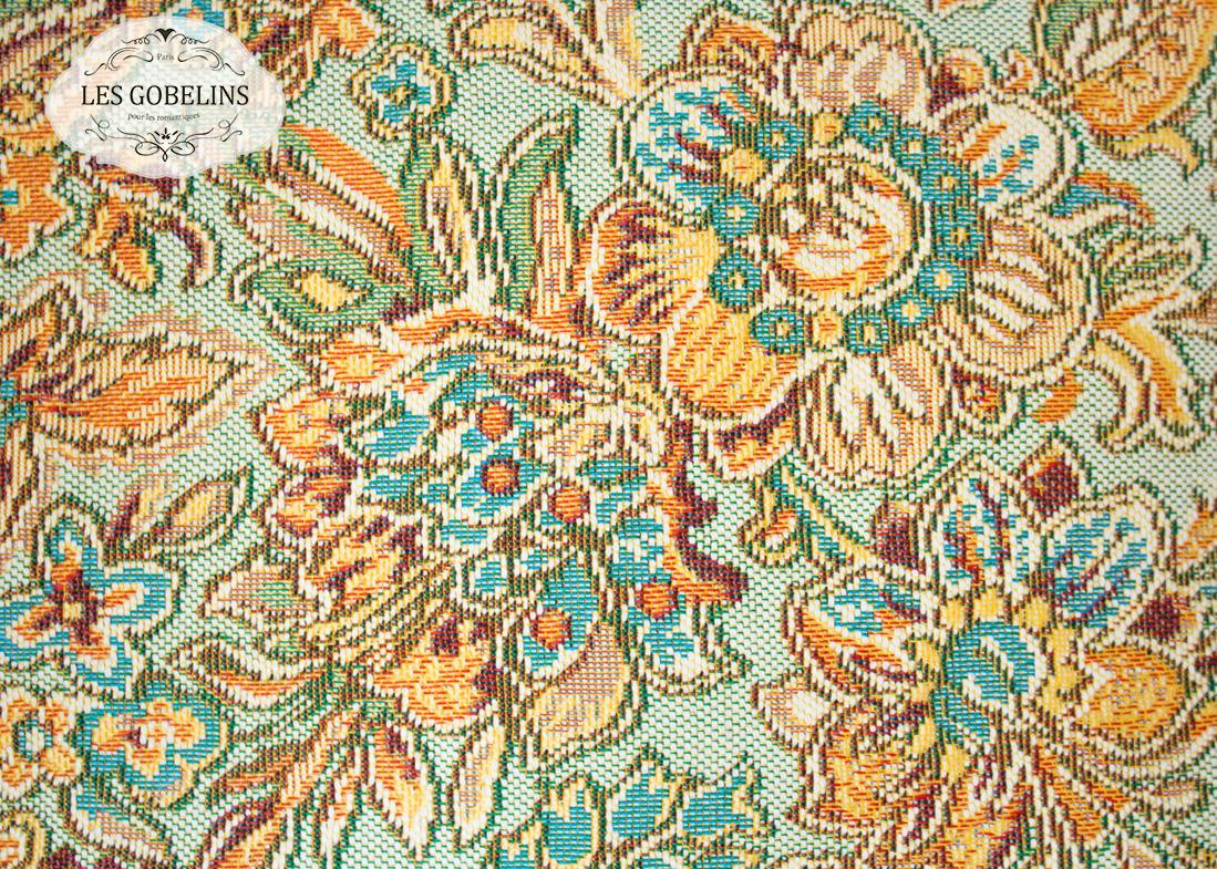 где купить  Покрывало Les Gobelins Накидка на диван Vitrail De Printemps (130х210 см)  по лучшей цене