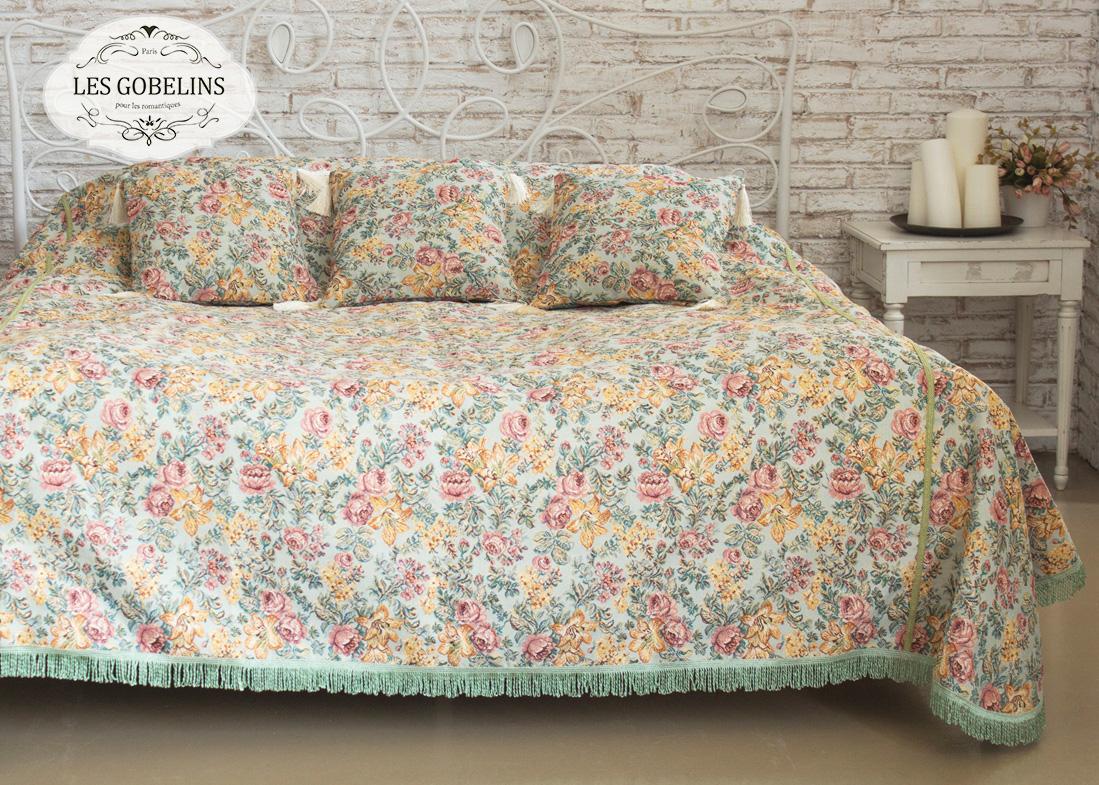 Покрывало на кровать Arrangement De Fleurs (130х220 см) Les Gobelins