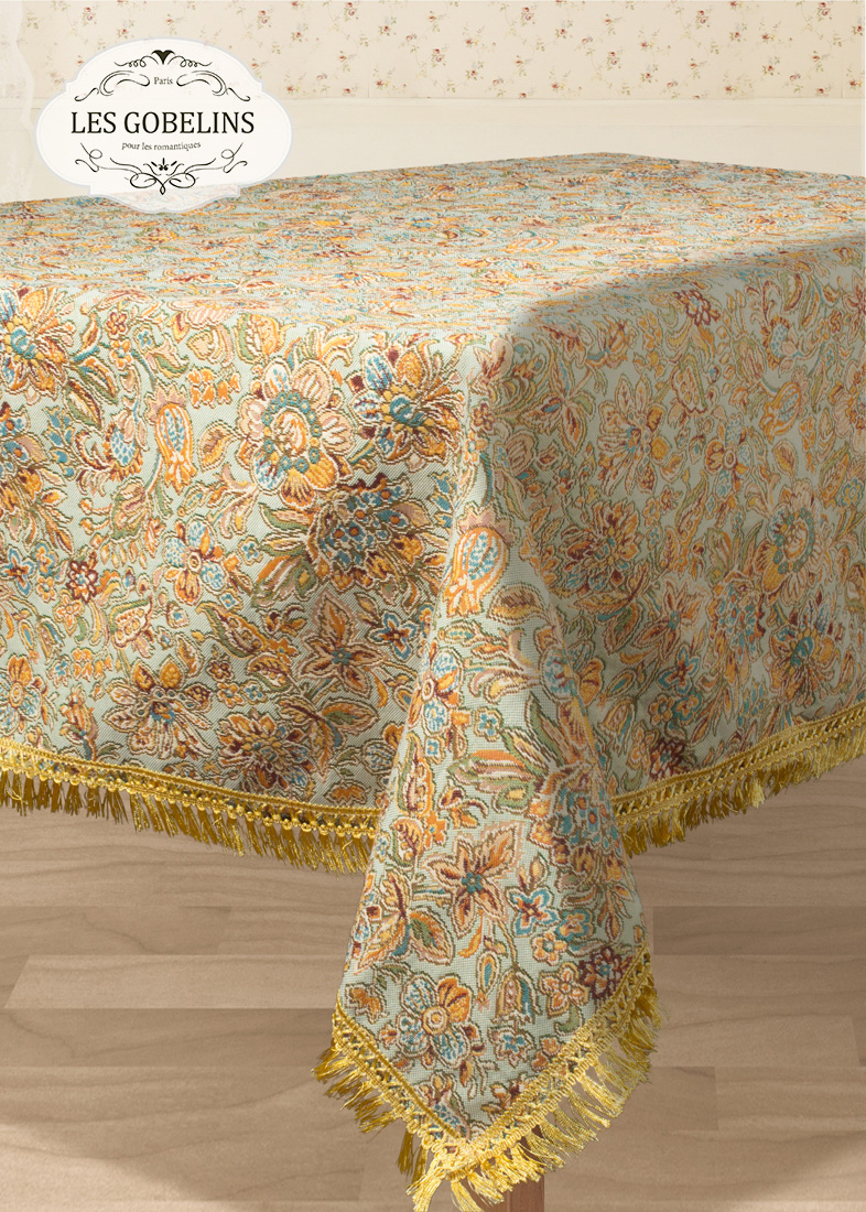 Скатерти и салфетки Les Gobelins Скатерть Vitrail De Printemps (160х240 см)