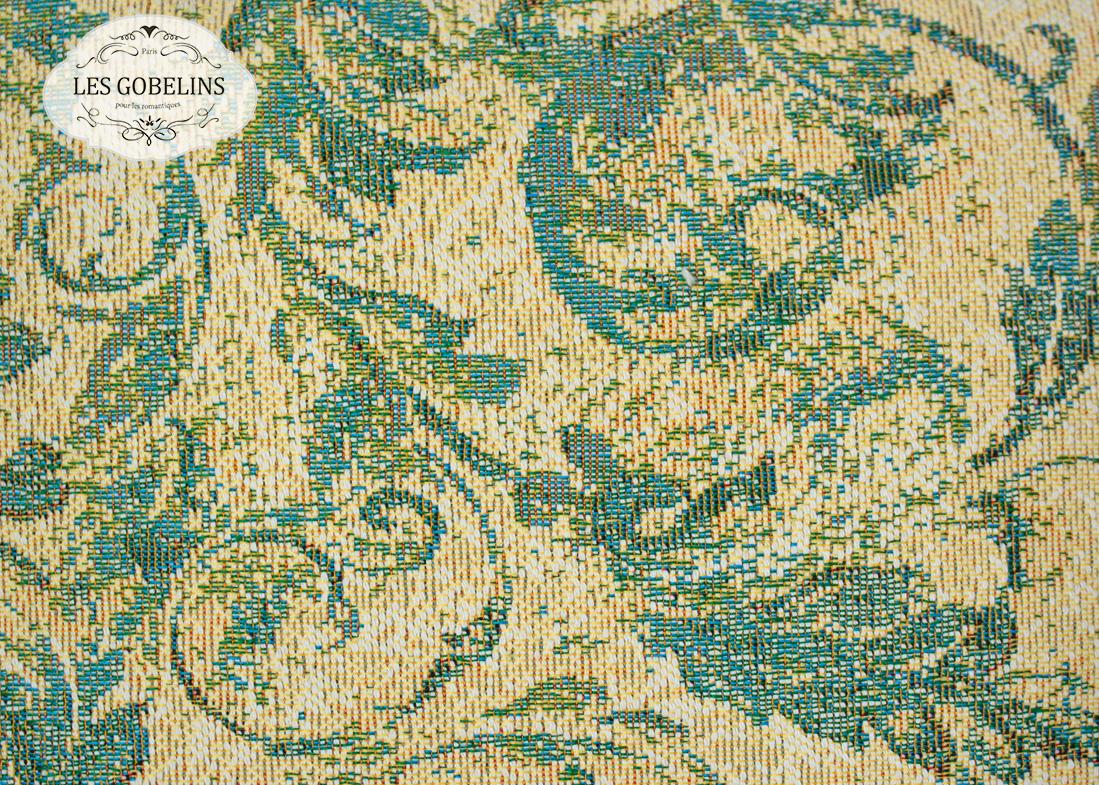 где купить  Покрывало Les Gobelins Накидка на диван Jeune Verdure (140х180 см)  по лучшей цене