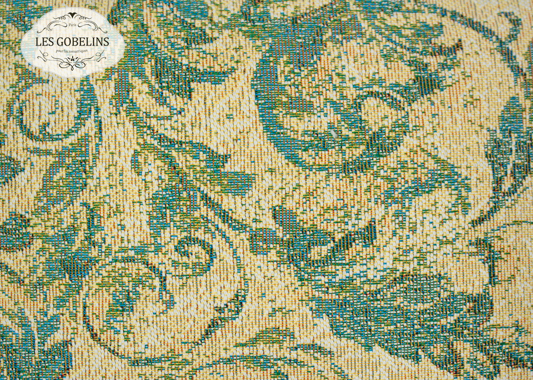 где купить  Покрывало Les Gobelins Накидка на диван Jeune Verdure (140х200 см)  по лучшей цене