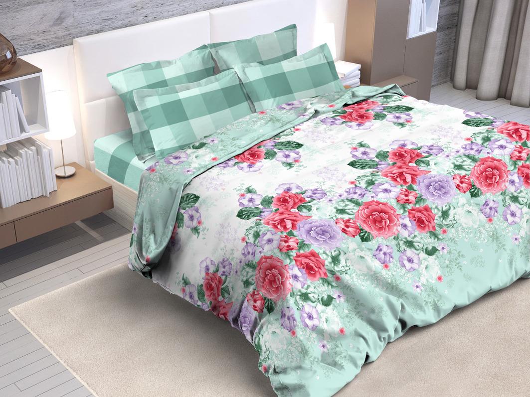 Постельное белье Cleo Постельное белье Madrigal  (2 сп. евро) постельное белье амалия розовый бязь евро 1