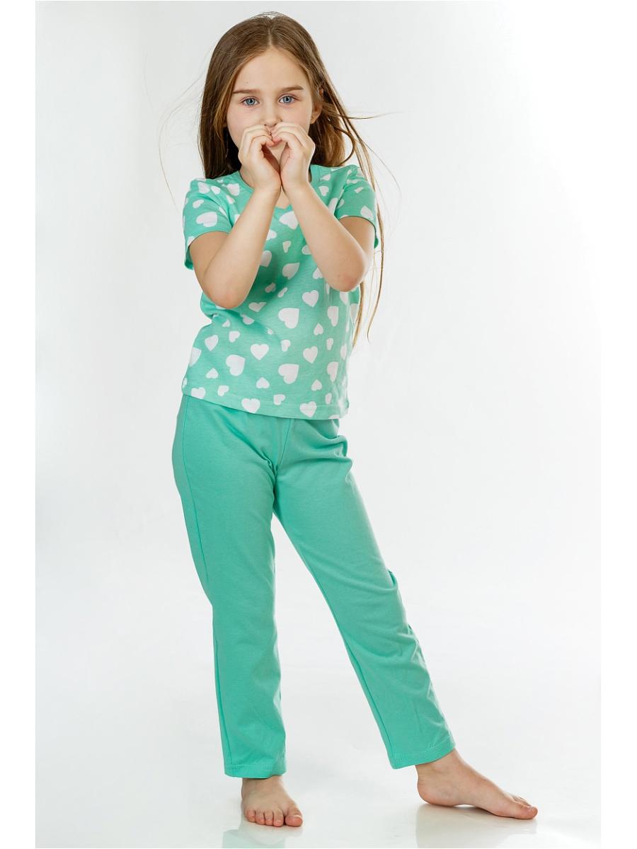 Детские пижамы Pastilla Детская пижама Стелла Цвет: Ментол (6 лет) детские пижамы pastilla детская пижама радуга цвет розовый 6 лет